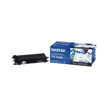 Brother TN-130BK Sort Lasertoner, 2.500 sider