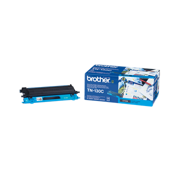 Brother TN-130C Cyan Lasertoner, 1.500 sider