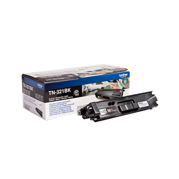 Brother TN-321BK Sort Lasertoner, 2.500 sider