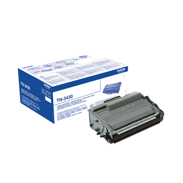 Brother TN-3430 Sort Lasertoner, 3.000 sider