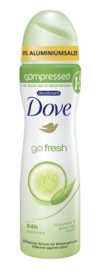 Dove 75ml Deodorant Spray Go Fresh Compressed