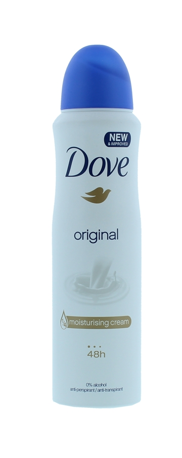 Dove 150ml Anti Perspirant Spray Original