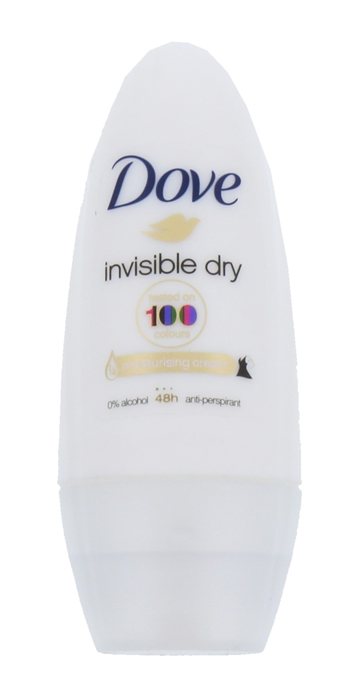 Dove Deodorant Roll-On Anti-Perspirant Invisible Dry 50ml