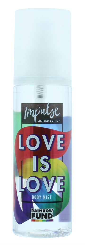 Impulse 150ml Body Mist Love Is Love