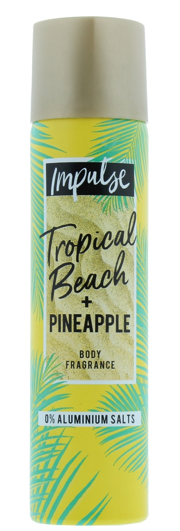 Impulse 75ml Bodyspray Tropical Beach & Pineapple