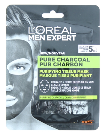L'Oreal Men Expert Mask Pure Charcoal