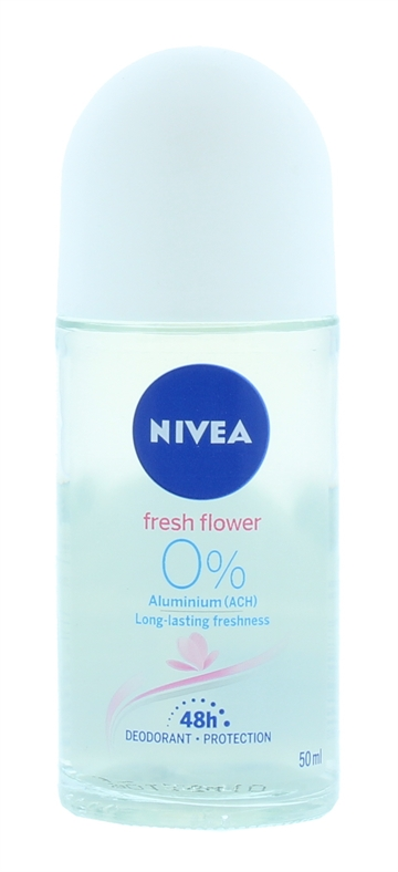 Nivea 50ml Roll On Flowers Fresh 48 Hour Protection
