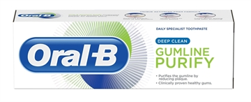Oral B 75ml Toothpaste Gumline Purify Deep Clean