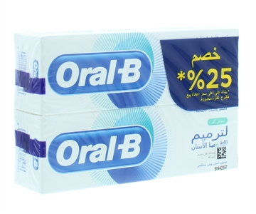 Oral B 75ml Toothpaste Gum & Enamel Repair Extra Fresh Twin Pack