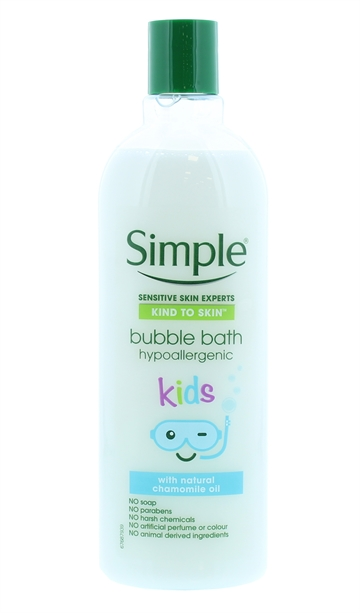 Simple Kids 400ml Bubble Bath Hypoallerg