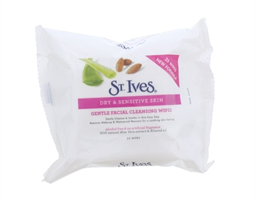 St Ives Facial Cleansing Gentle Wipes 35'S