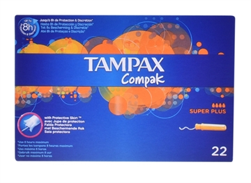 Tampax Compak Super Plus 22'S
