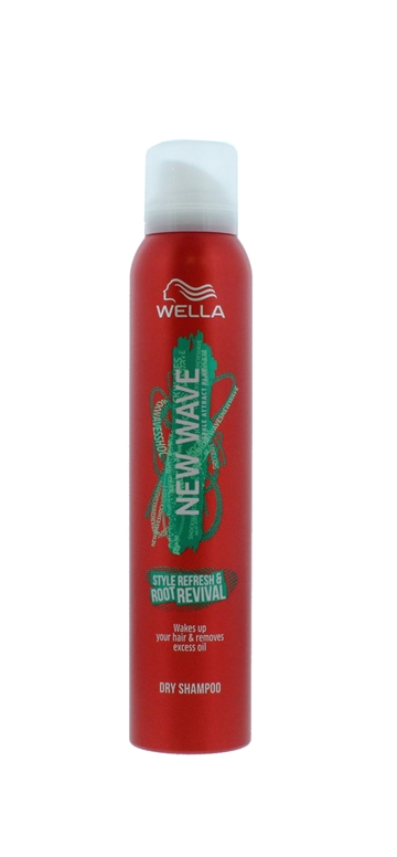 Wella New Wave 180ml Dry Shampoo Style Refresh & Root Revival