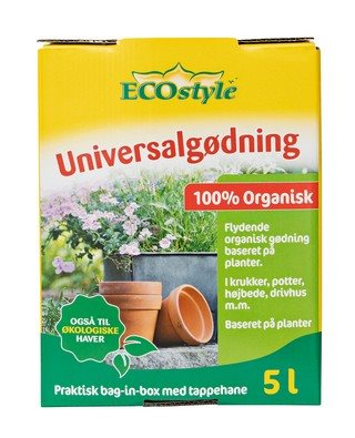 Universal gødning bag-in-box - 5000 ml