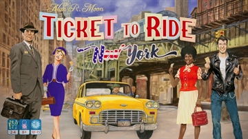 Ticket To Ride New York (Dansk)