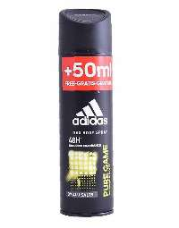 Adidas Pure Game 200ml Mænd Spray deodorant