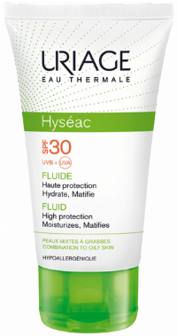 Uriage Hyseac solcreme creme Ansigt 50 ml