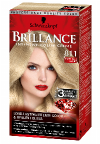 Schwarzkopf Brillance 811 hårfarve Blond