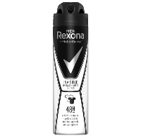Rexona Men invisible on black+white clothes antiperspirant Mænd Spray deodorant 150 ml